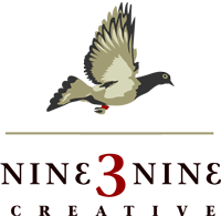 nine3nine Creative logo